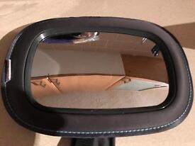 Large 'Munchkin' rear view baby mirror.