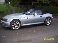BMW Z3 - Silver - New Hood