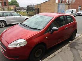 Fiat punto 87k runs well, few minor issues. MOT Nov 18