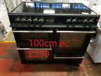 Leisure 100cm range electric cooker free delivery in Leicester