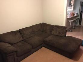 Corner Sofa with Built In Bed