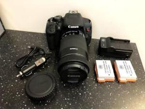 Canon EOS Rebel T5i w/55-250mm Lens