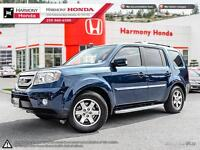 2009 Honda Pilot TOURING - ONE OWNER - BC VEHICLE - NO ACCIDENTS