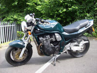Suzuki gsx 1200 mk1 bandit full 12 months m.o.t ART end can stanless rad guard v.g.c sounds nicee