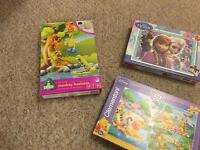 Selection of jigsaws and games