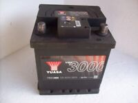 CAR BATTERY 12V 40ah 360amp FULLY CHARGED.