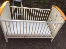 Cot with or without mattress