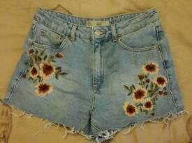 Topshop Mom Shorts UK 10