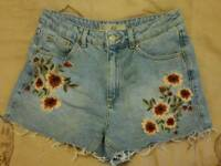 Topshop Mom Shorts UK 10
