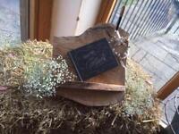 Wedding guest book stand