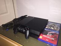 PS4 (Original Packaging) +Games