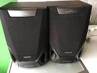Panasonic stereo speakes