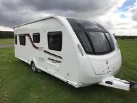2015 SWIFT CHALLENGER SPORT 584 *FIXED ISLAND BED* TOURING CARAVAN - FINANCE AVAILABLE!