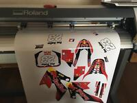 """Roland vp540 print and cut 54"""" Eco solvent printer not mutoh mimaki or Epson"""