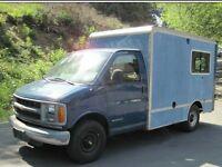 Engine 4sale Chevrolet box van 6.5L diesel 2000yr