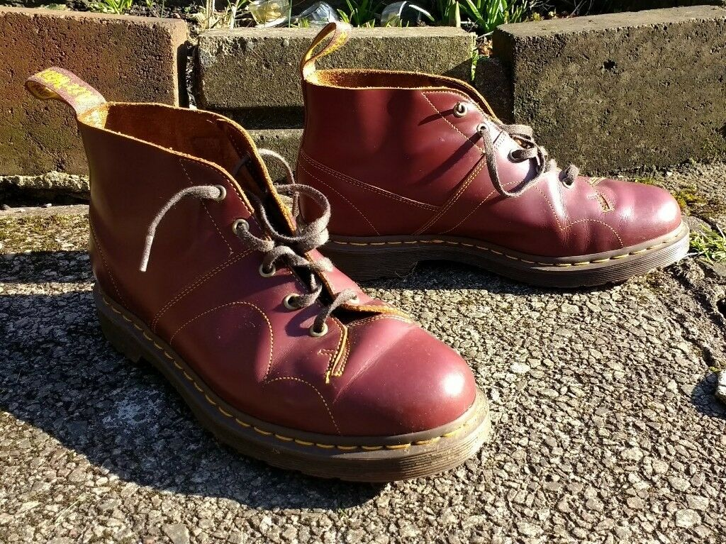 c2f6e629d8182 Doc Martens Church Monkey Boots Size 10 | in Kings Park, Glasgow ...