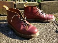 Doc Martens Church Monkey Boots Size 10