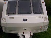 abi manhattan 03 2 berth full end shower/dressing room new awning only 875kg