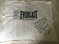 Mohammed Ali/Mike Tyson & Evander Holyfield signed Boxing Sweatshirt