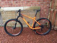 Commencal Meta Trail ht 29 XL orange and black men's mountain bike