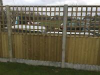 🌳Wooden Trellis Fence Panels -Various Sizes Available