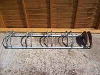 galvanised steed bike stand