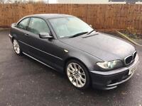 2005 BMW 320d CD M SPORT COUPE FULL SERVICE 2 OWNER MINT CAR BARGAIN 3 SERIES NOT 330ci M3