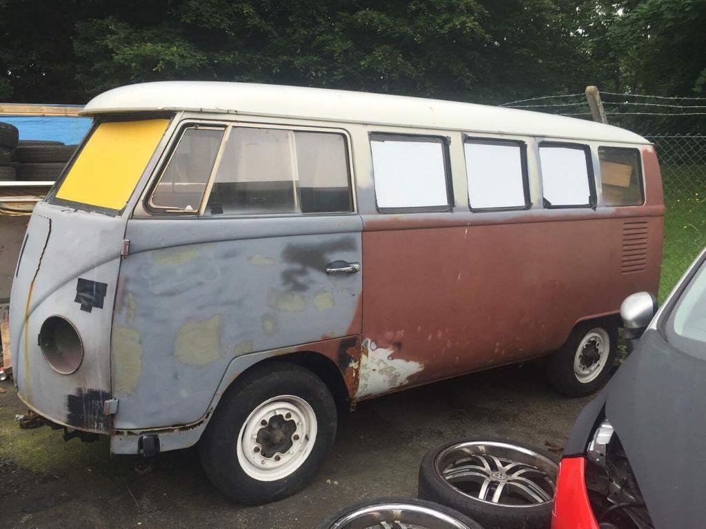 1967 13 window German made VW Splitscreen Campervan