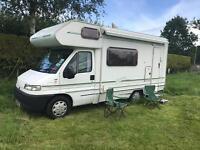 Fiat swift campervan X reg 2000 4 birth