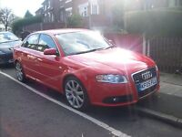 2005 AUDI A4 S LINE TDI RED NEW SHAPE FULL STAMPED HISTORY RECENT TURBO NICE PX