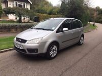 FORD FOCUS C MAX 2005 ..50000 MILES FSH DRIVES THE BEST TEL.07770928119