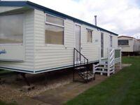 static caravan to hire rent let 3 bed 8 berth on sealands caravan park ingoldmells skegness