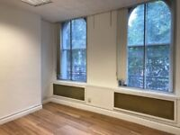 Bright 4 desk private office near Victoria Station for £199 a week