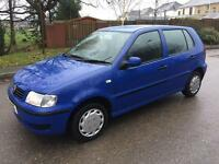 2001 Volkswagen Polo 1.0 Manual 5 months mot. Nice car New Parts