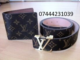 Good Quality colours Louis Vuitton Belt Lv Wallet £25 Verscace