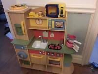 Little tikes wooden kitchen plus extras