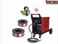 Sealey Mightymig170 170A Mig Welder & MB14 Euro Torch + 5Kg Wire