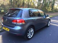 Volkswagen Golf 1.6TDI 2010 only £30 a year tax