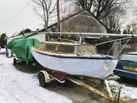 Lysander 17 Project Sail Boat