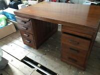 Fine arts and craft, office writing desk.