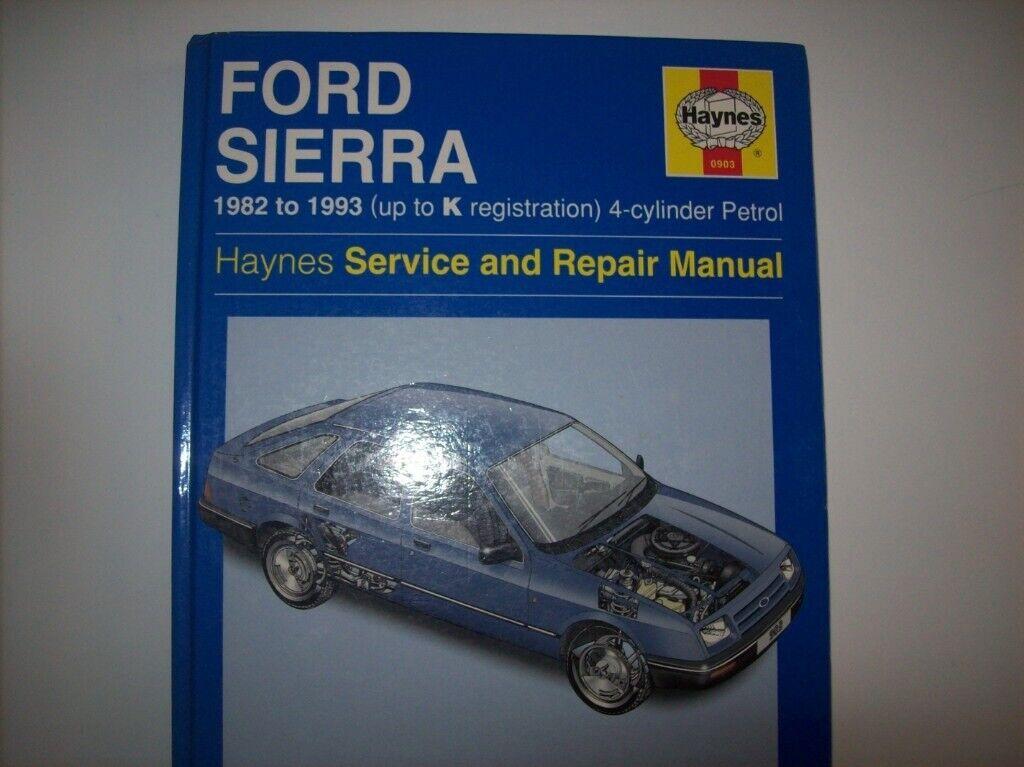 1982 1993 ford sierra workshop service repair manual