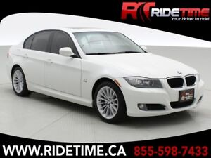 2010 BMW 3 Series 328i xDrive AWD - Sunroof, Automatic, Brown Le