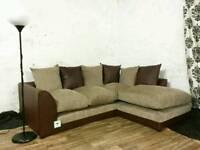 New/ex display corner sofa*free delivery*