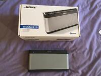 Soundlink 3 III Bose bluetooth speaker like new