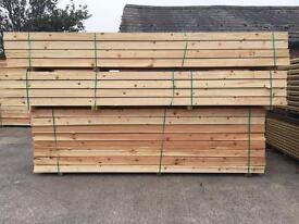 Timber/ Wooden Scaffold Style Boards/ Planks 12Ft/14Ft 🌳