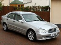 Mercedes C Class C180K SE, Full Service History, Elderly Owner, Brilliant Silver, Immaculate Car...