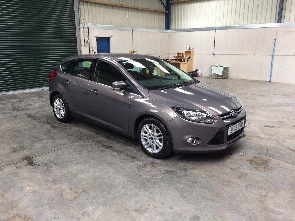 13 reg Ford Focus Titanuium 1.6 Tdci 6 speed 1 owner low miles guaranteed cheapest in country