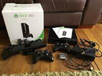 XBox 360 4GB with Kinect and Games