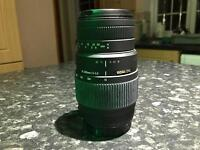 Sigma 70-300 lens for canon