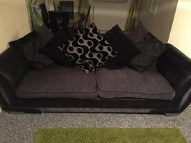 3 seater pull out bed and 5 seater